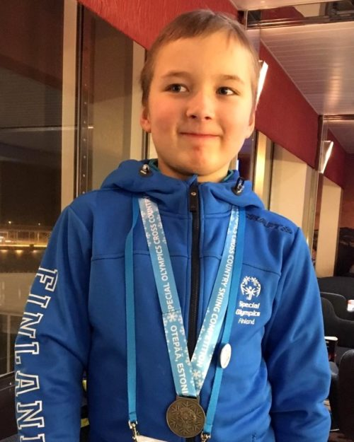 Ilvekselle pronssia Otepään Special Olympics -kilpailuista